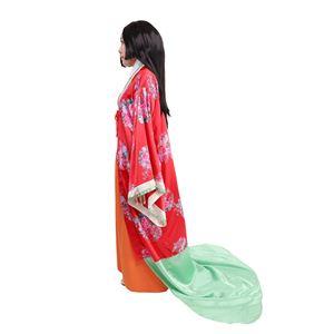 和風 コスプレ衣装/コスチューム 【姫様】 レディース155cm〜165cm迄 ポリエステル 〔イベント パーティー〕