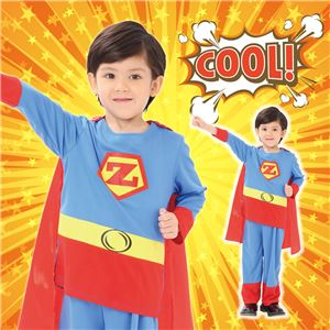 【コスプレ】 アメリカンヒーロー 100 (子供用/キッズ) - 拡大画像