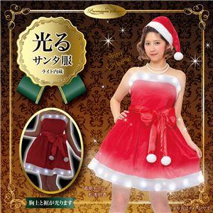 【クリスマスコスプレ 衣装】 エレクトリックベアトップサンタ - 拡大画像