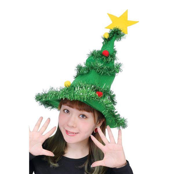 【クリスマスコスプレ 衣装】 光るツリーハット