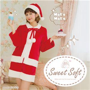 【クリスマスコスプレ 衣装】 Sweet Soft ポンポンパンツサンタ - 拡大画像