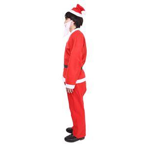 【クリスマスコスプレ 衣装】 誰でもサンタ5点セット f05