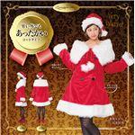 【クリスマスコスプレ 衣装】 ファーショールサンタコート