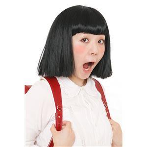ウィッグ/コスプレ衣装 【おかっぱちゃん】 塩化ビニル製 『カツランド』 〔ハロウィン パーティー〕