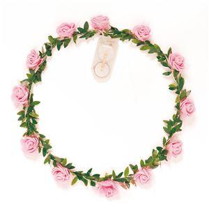 ELEX(エレクトリック イーエックス)光る花かんむり ピンク