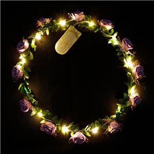 暗闇で光るグッズ ELEX(エレクトリック イーエックス)光る花かんむり