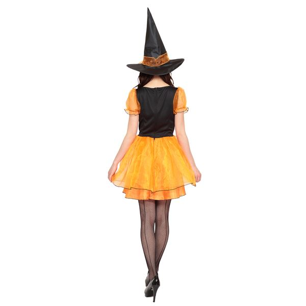 【魔女 コスプレ/オレンジ&ブラック】 トキメキグラフィティ TG ビビッドウィッチ