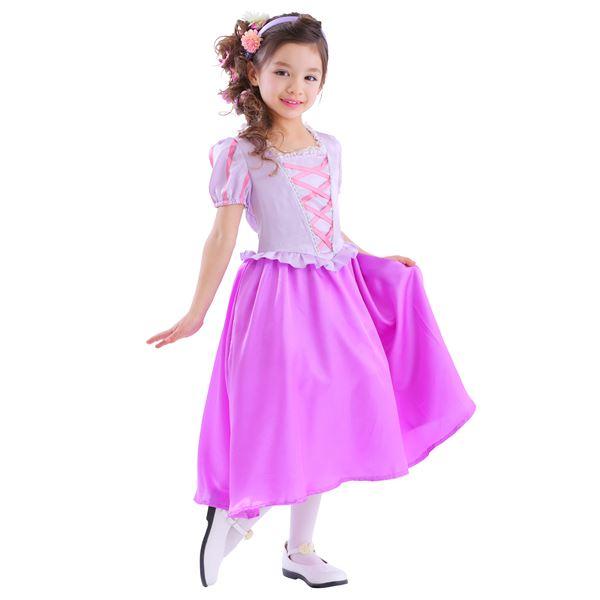 ハロウィン 衣装 子供用 お姫様ドレス/プリンセスドレス/ロイヤルラベンダープリンセス