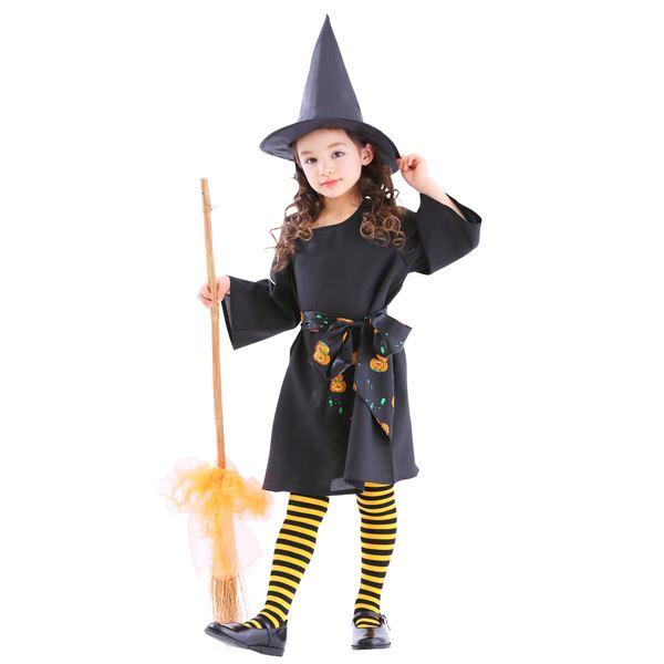 【ハロウィン衣装・子供・魔女衣装】ウィッチプリンセス