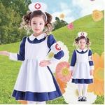 【コスプレ】 クラシックナース キッズ 100 (子供用/キッズ) の画像