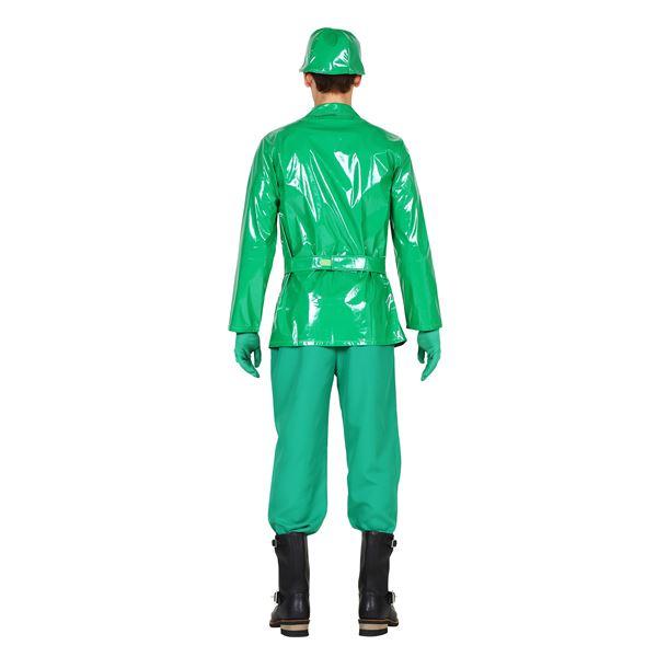 【グリーンアーミーマン風 コスプレ】コスの極み グリーンアーミー