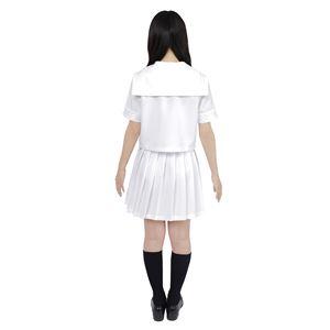 【コスプレ】 カラーセーラー 白M