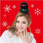 【クリスマスコスプレ 衣装】 スノーマンハットカチューシャ