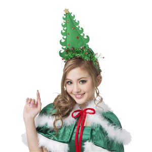 【クリスマスコスプレ 衣装】 ツリーカチューシャ