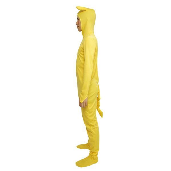 カラフルデコチュウ全身タイツ 黄
