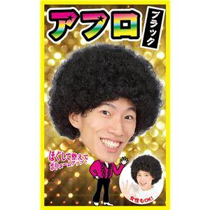 【コスプレ】カツランド アフロ ブラック