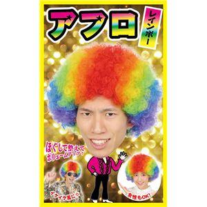 【コスプレ】カツランド アフロ レインボー
