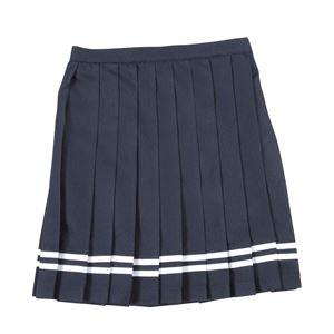 【コスプレ】 Teens Ever(ティーンズエバー) TE-17SSスカート(ネイビー/白ライン)M - 拡大画像