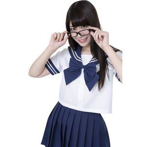 【コスプレ】カラーセーラー 紺L