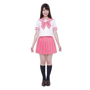 【コスプレ】カラーセーラー ピンクM