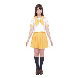 【コスプレ】カラーセーラー 黄L