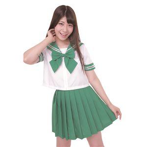 【コスプレ】カラーセーラー 緑4L
