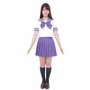 【コスプレ】カラーセーラー 紫L