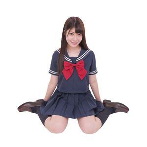 【コスプレ】カラーセーラー 紺×紺L