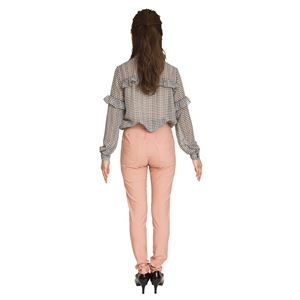 ウルトラフィツト美脚パンツ ピンク Sサイズ