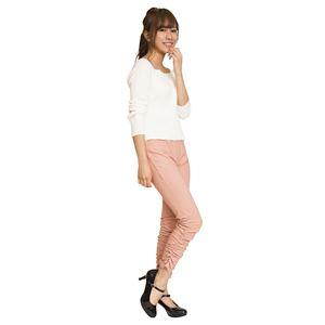 ウルトラフィツト美脚パンツ 裾ギャザー ピンク...の関連商品9