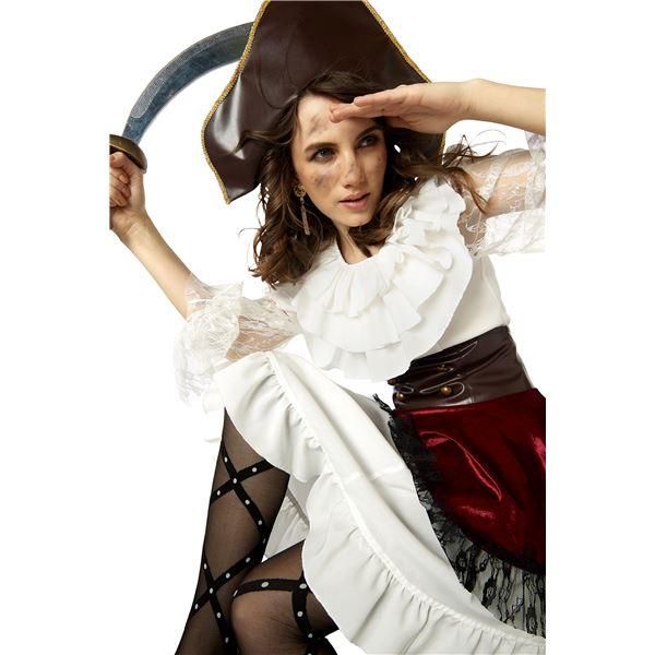 【海賊衣装・レディース・丈長め】 グレースパイレーツ