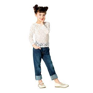 【コスプレ】 レーストップス Kids ホワイト140cm  (子供用/キッズ)の写真1