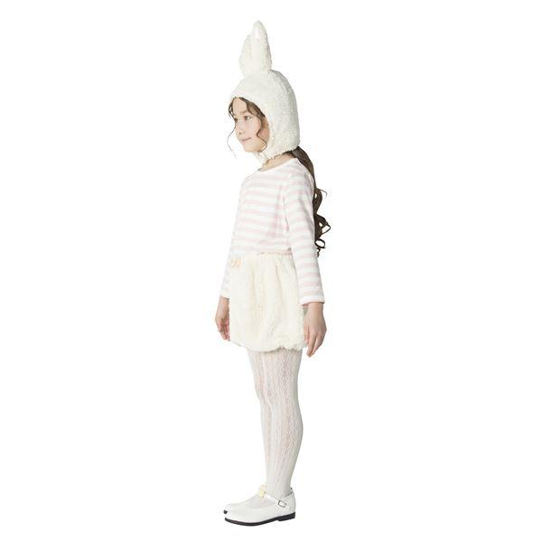 【アニマルコスプレ】COS ホワイトラパン140cm