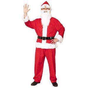 【クリスマスコスプレ 衣装】 GOGOサンタサン レッド