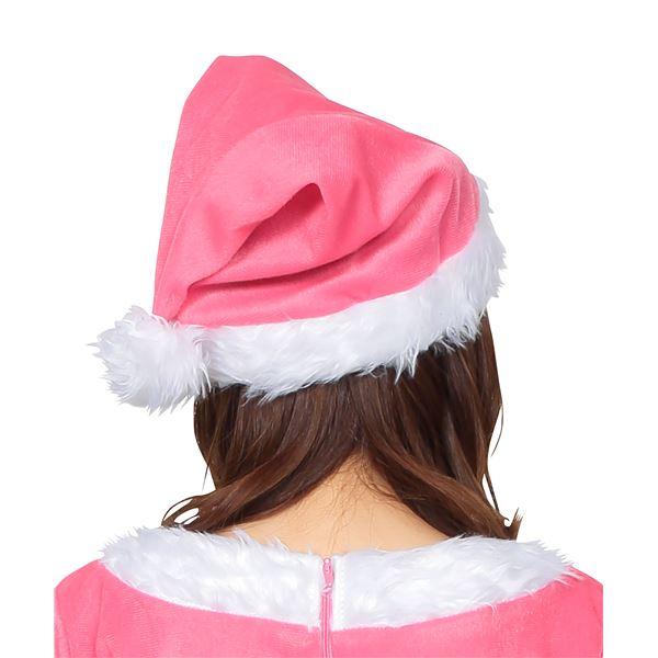 女の子らしいピンクが大人気♪サンタ帽子 ピンク