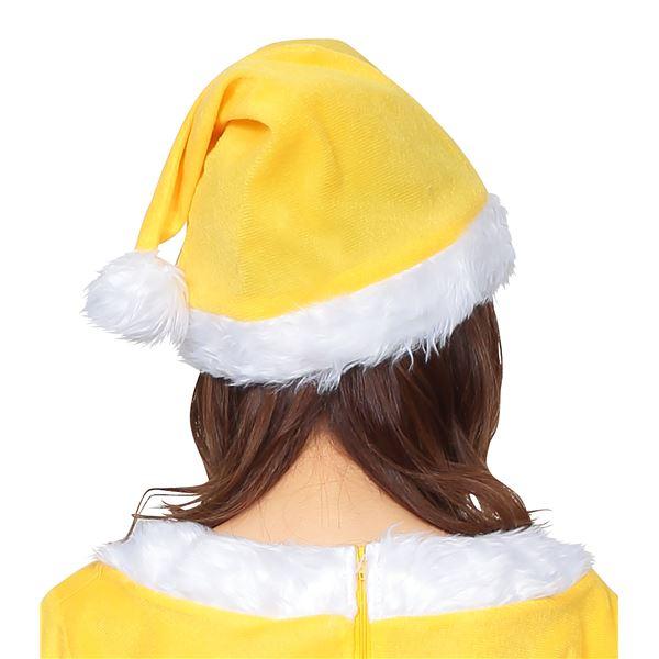超レアな黄色が派手☆サンタ帽子 イエロー