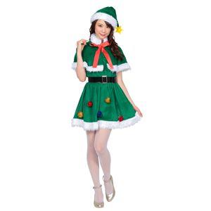 【クリスマスコスプレ 衣装】 ホーリーナイトツリー - 拡大画像