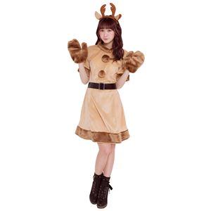 【クリスマスコスプレ 衣装】 キャンディトナカイの写真1
