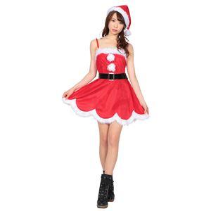 【クリスマスコスプレ 衣装】 デイジーワンピースサンタの写真1