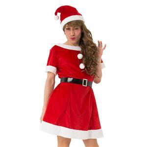 【クリスマスコスプレ 衣装】 ファンファンシュガーサンタ UNISEX(男女兼用) - 拡大画像