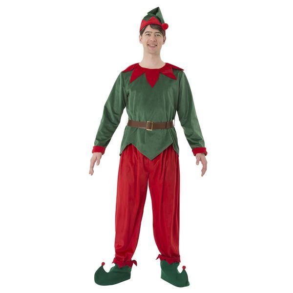 エルフトントゥ メンズ -サンタクロースのお手伝いをする妖精衣装-