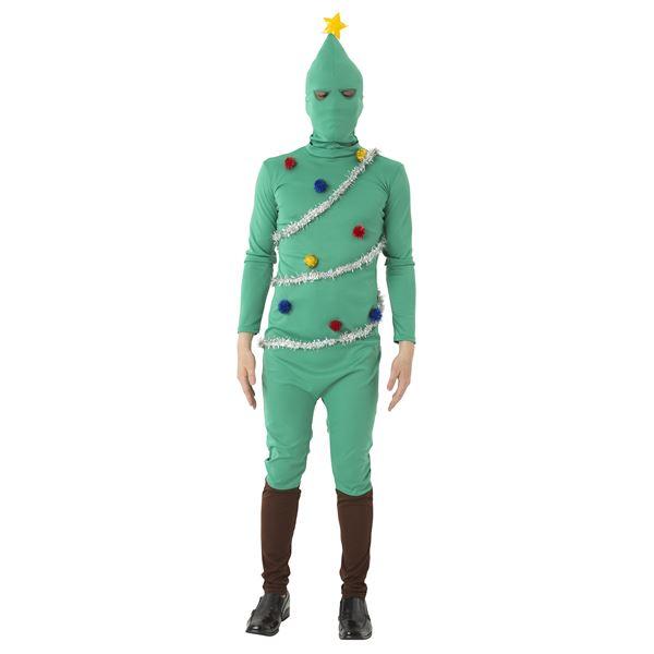 【クリスマスツリーの全身タイツ】 イケイケツリータイツ