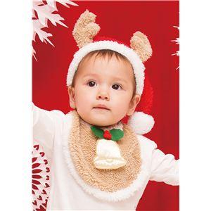 クリスマスコスプレ/衣装 【トナカイスタイセット】 ベビー0~2歳目安 ポリエステル 〔イベント パーティー〕