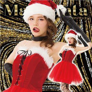 【クリスマスコスプレ 衣装】 マジサンタ ロックンチュールサンタの写真1