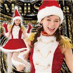 【クリスマスコスプレ 衣装】 マジサンタ マーチングガールサンタ