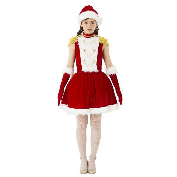 マーチングガールサンタ - サンタコスプレ・クリスマス衣