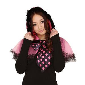 【クリスマスコスプレ 衣装】 チュチュマント(チョコピンク) Ladies レディース