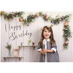 フォトポスター/壁紙ポスター 【Happy Birthday シャビーハウス】 A0サイズ 841mm×1189mm 紙製 『イエスタ iesta』