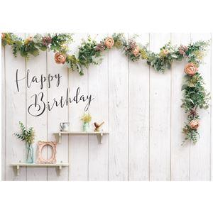 フォトポスター イエスタ Happy Birthday シャビーハウス