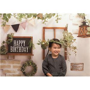 フォトポスター/壁紙ポスター 【Happy Birthday カントリーガーデン】 A0サイズ 841mm×1189mm 紙製 『イエスタ iesta』
